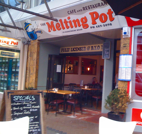 The Melting Pot, Takapuna