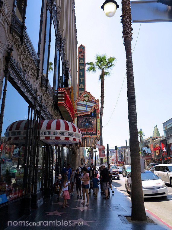 Hollywood Boulevard and El Capitan