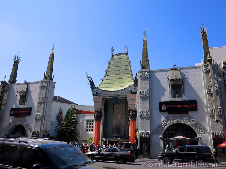 The TCL Chinese Theatre in Hollywood, where the Academy Awards are held