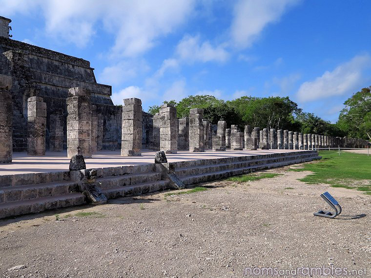 Temple of Warriors and Group of a Thousand Columns