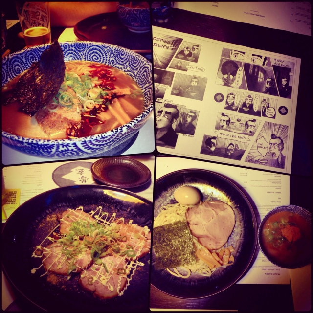 DAY 19 - #100happydays #day19 My favourite thing to do in #Melbourne is trying out  #new #eateries! #mensousai #mugenramenbar #ramenbar #wafu #ramen #dashi  #curry #tsukemen #aburichashu #chashu #pork #housemade #noodles #blighplace  #flinderslane #japanese #japanesefood #foodporn #wiat #instafood #fooddiaries  #nomsandrambles #100happyindienomdays