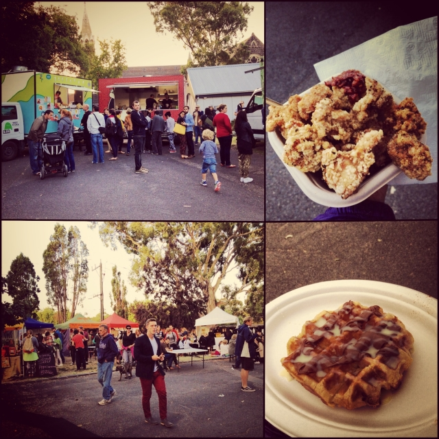 DAY 47 - #100happydays #100happydaysday47 #day47 #100happyindienomdays  #abbotsfordconvent #suppermarket #market #nightmarket #food #foodtrucks  #foodstalls #stalls #taiwanesefood #chicken #waffle #nutella #nutellawaffle  #abbotsford #melbournesummer #iskindoffreezing #foodporn #wiat #motd  #instafood #fooddiaries
