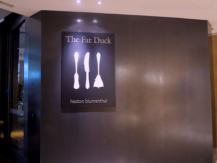 The Fat Duck in Melbourne